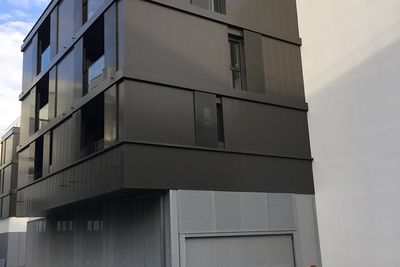 Pose de structures métalliques à Rennes (35)