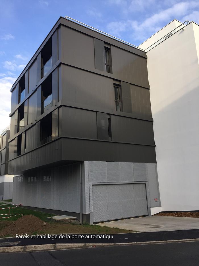 Pose de structures métalliques à Rennes (35) 0
